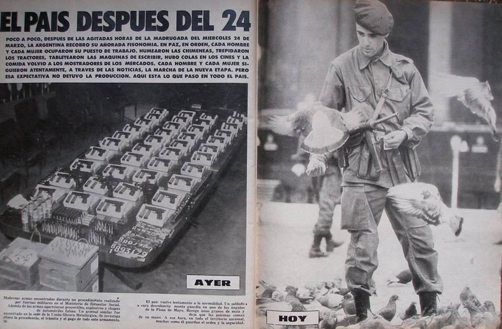 Revista Gente, 19 de abril de 1976. Gentileza investigadora.
